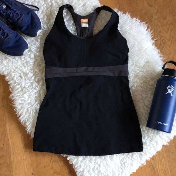Lucy Tech Activewear Purple & Grey Tank Top Shelf Women's Clothing